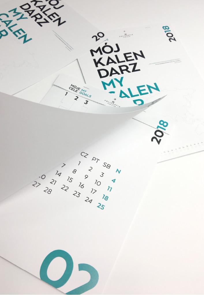 kalendarz scienny z perforacja